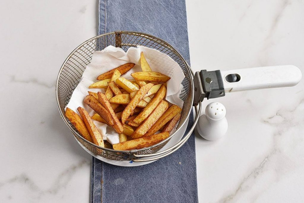 Classic British Fish and Chips recipe - step 12