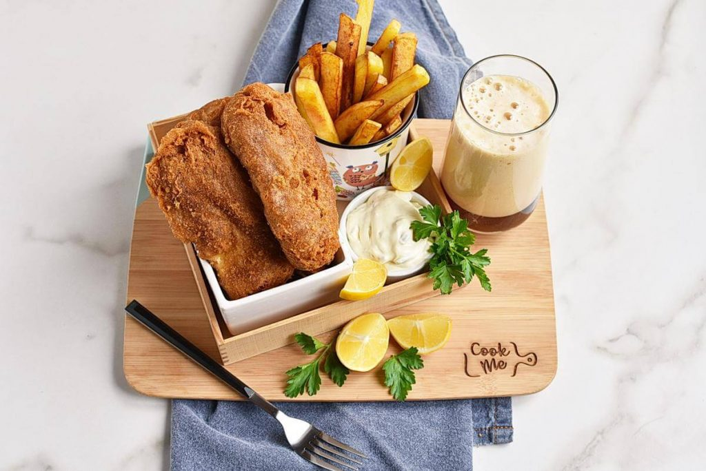 How to serve Classic British Fish and Chips