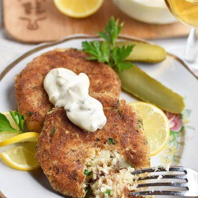 Classic Fish Cakes Recipes–Homemade Classic Fish Cakes–Easy Classic Fish Cakes