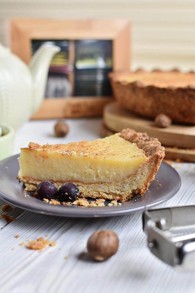 Classic Sugar Cream Pie
