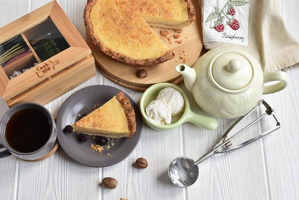 How to serve Classic Sugar Cream Pie