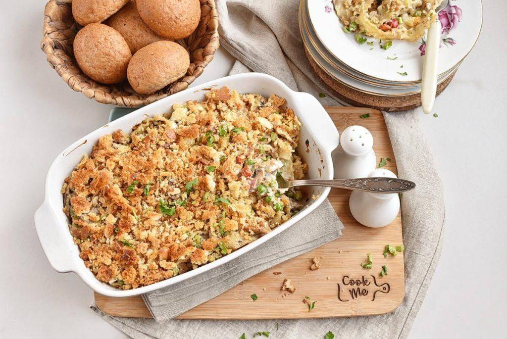How to serve Classic Tuna Noodle Casserole