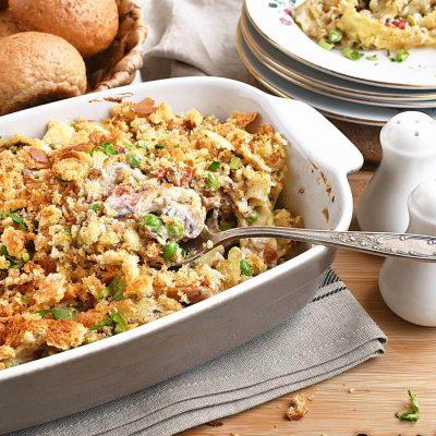 Classic Tuna Noodle Casserole Recipes–Homemade Classic Tuna Noodle Casserole–Eazy Classic Tuna Noodle Casserole