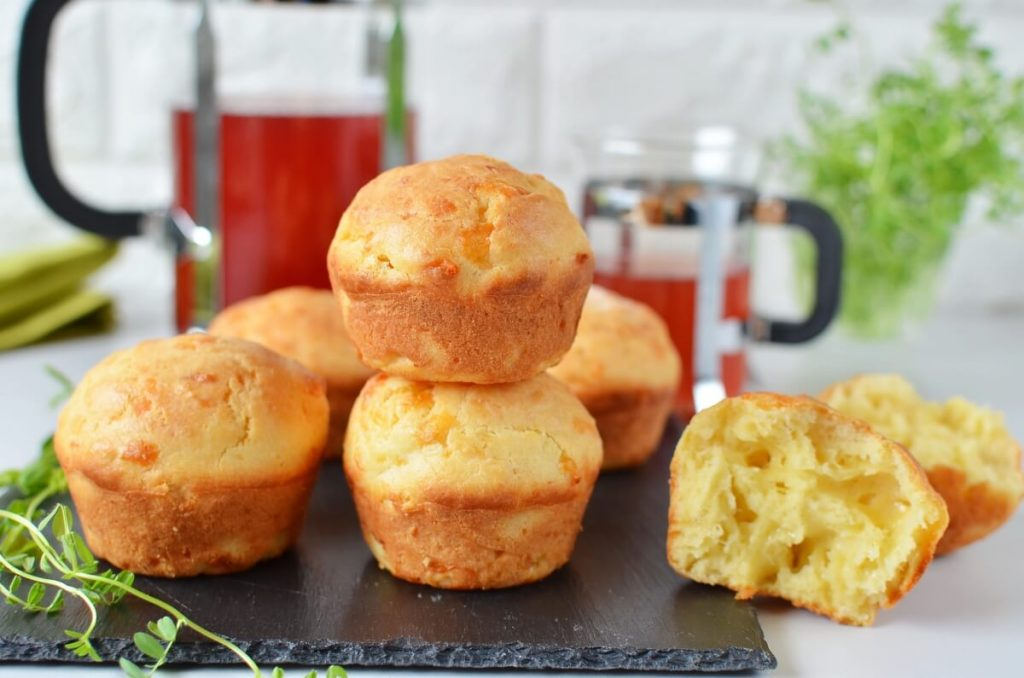 How to serve Cottage Cheese Muffins