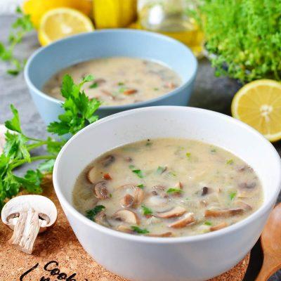 Creamy Vegan Hungarian Mushroom Soup Recipe-How To Make Creamy Vegan Hungarian Mushroom Soup-Homemade Creamy Vegan Hungarian Mushroom Soup
