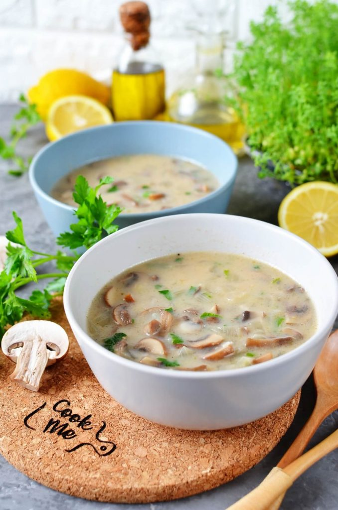 Creamy Vegan Hungarian Mushroom Soup