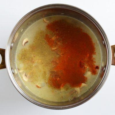 Creamy Vegan Hungarian Mushroom Soup recipe - step 3