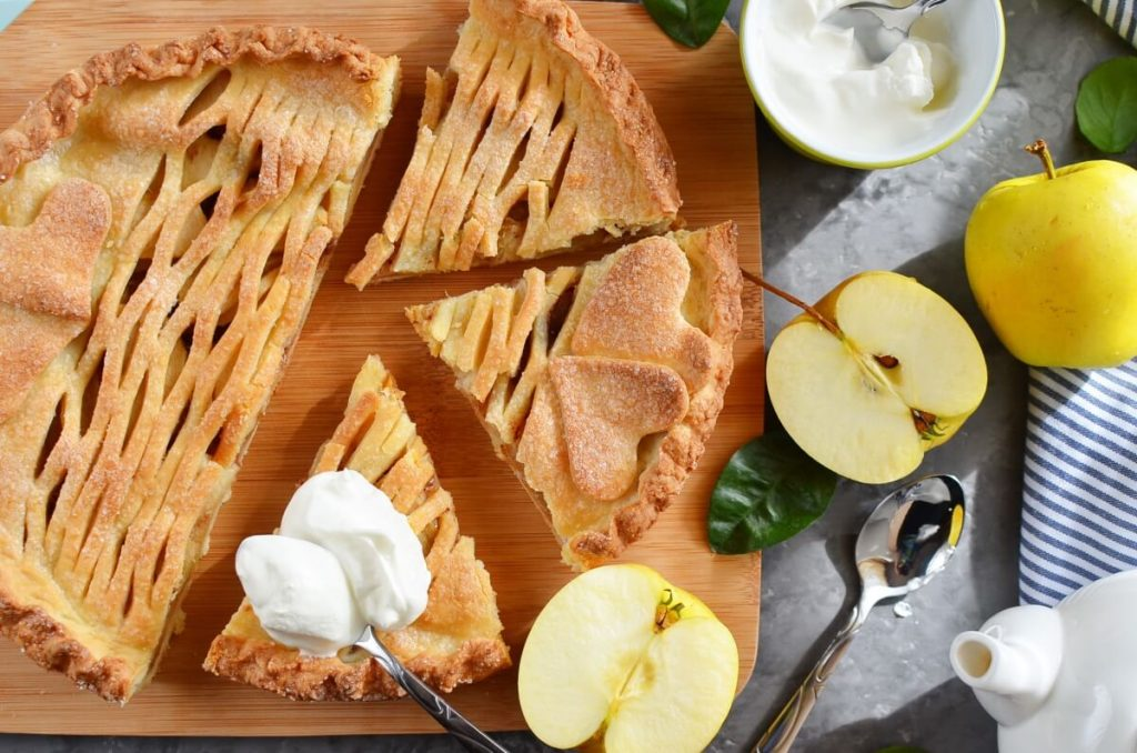 How to serve Crusty Apple Pie