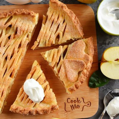 Crusty Apple Pie Recipe-How To Make Crusty Apple Pie-Delicious Crusty Apple Pie