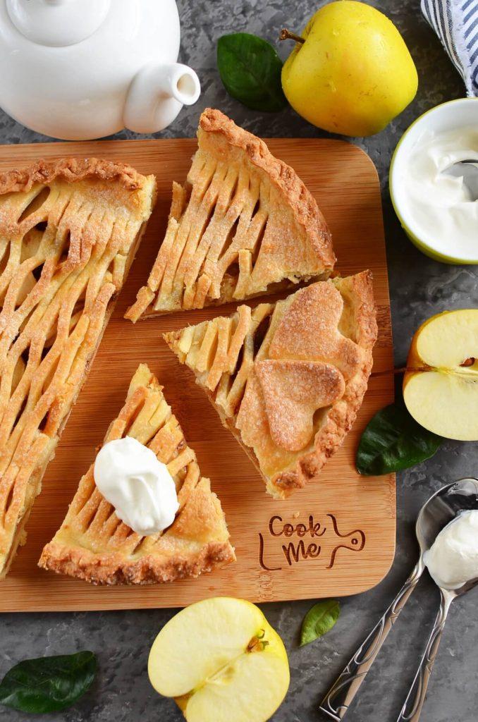 Sweet pastry crust