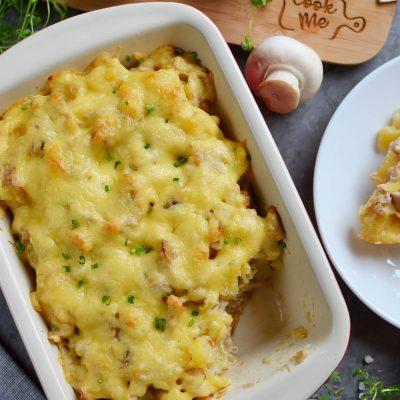 Easy Leftover Chicken and Potato Casserole Recipe-How To Make Easy Leftover Chicken and Potato Casserole-Easy Leftover Chicken and Potato Casserole