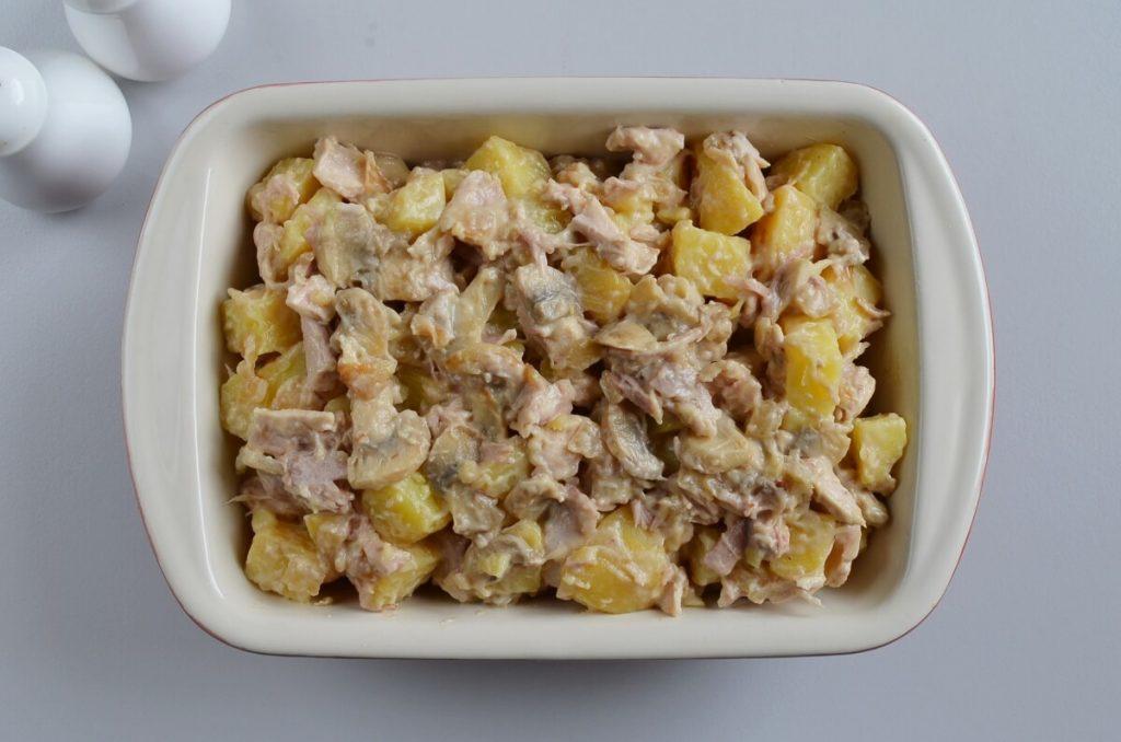 Easy Leftover Chicken and Potato Casserole recipe - step 5
