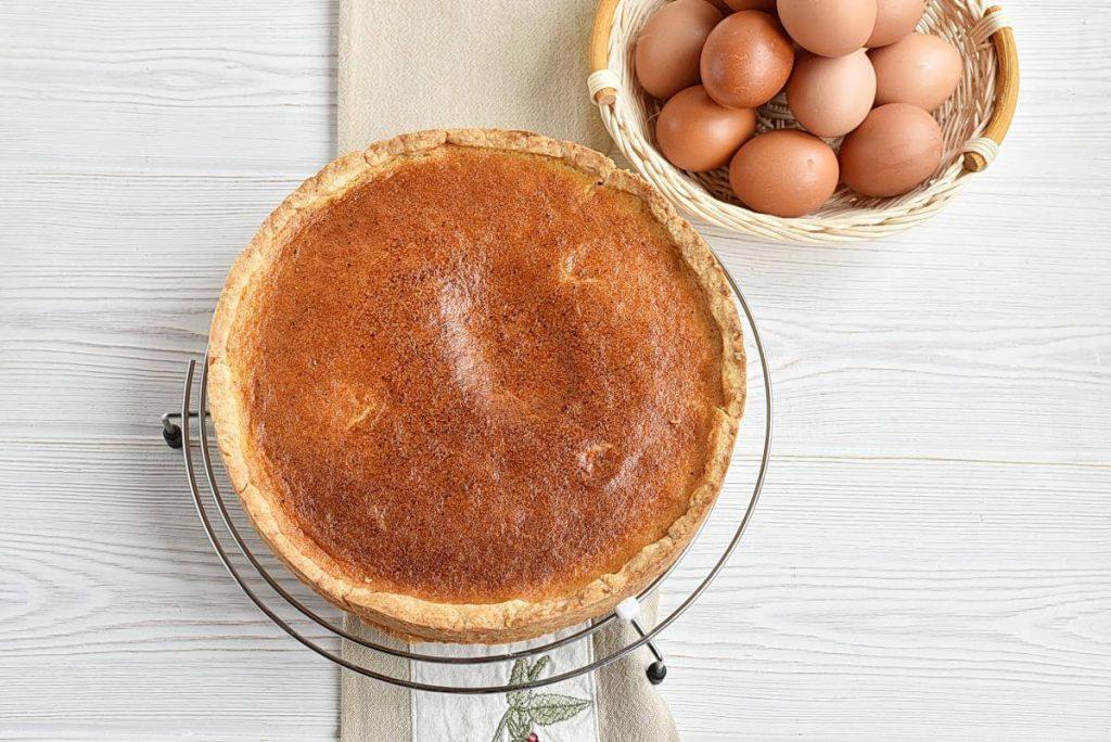 How to serve Eggnog Cream Pie