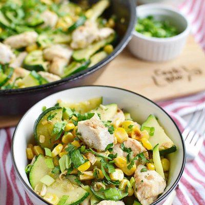 Healthy Chicken Zucchini and Corn Recipes–Homemade Healthy Chicken Zucchini and Corn–Eazy Healthy Chicken Zucchini and Corn