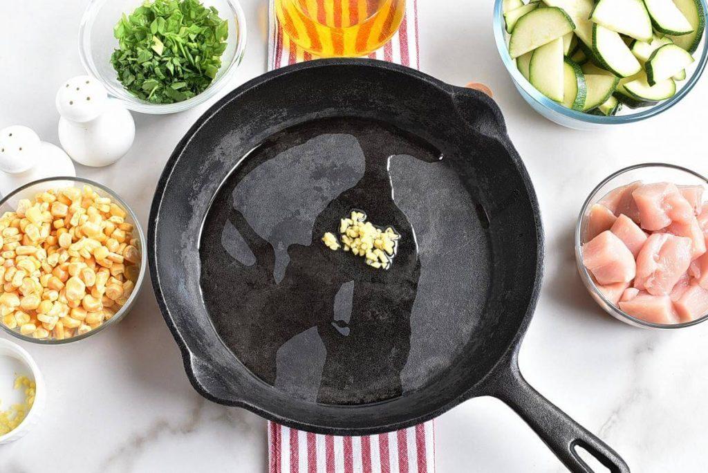 Healthy Chicken Zucchini and Corn recipe - step 1