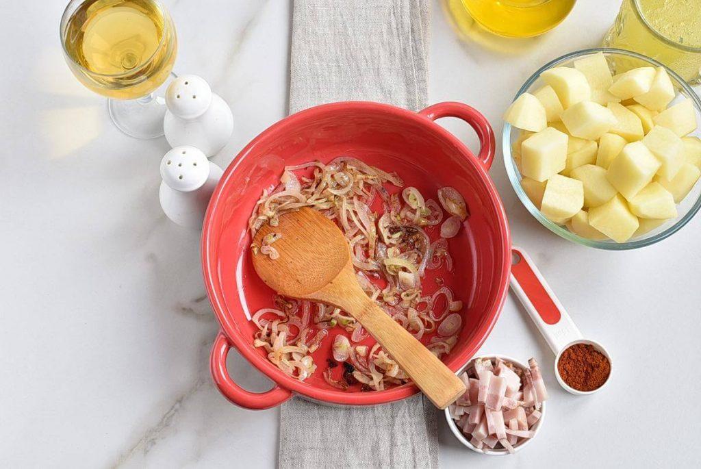 Hungarian Mushroom and Potato Soup recipe - step 3
