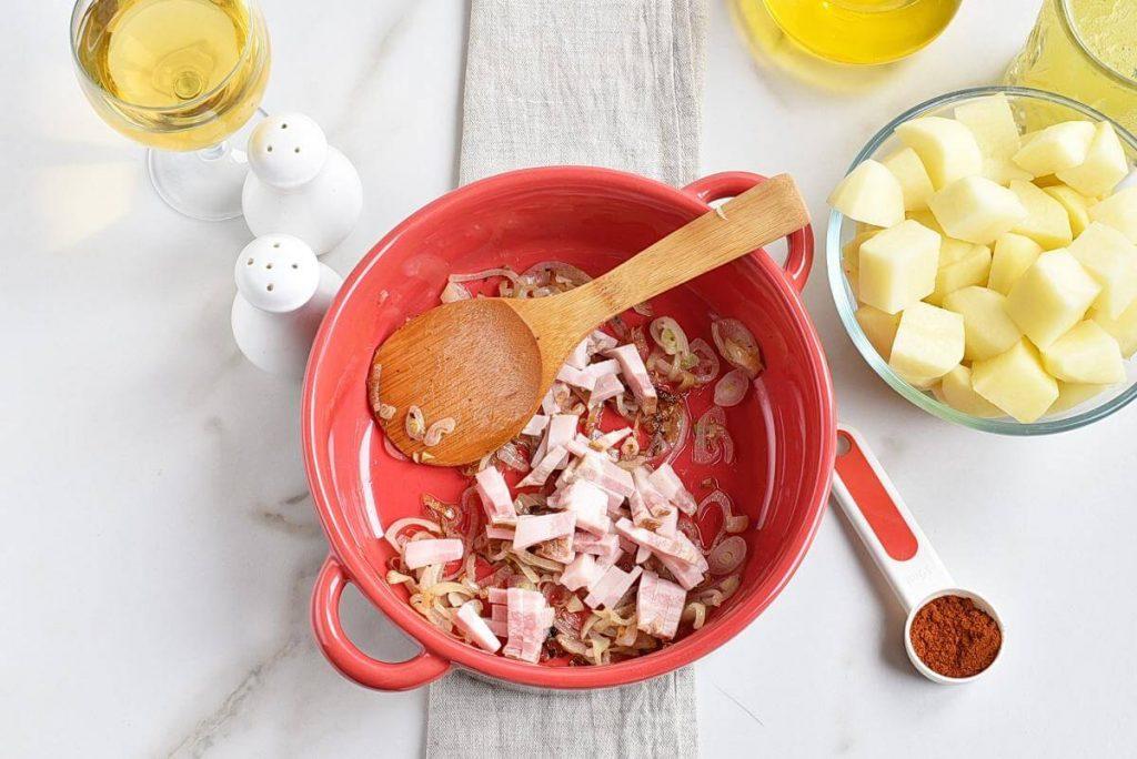 Hungarian Mushroom and Potato Soup recipe - step 4