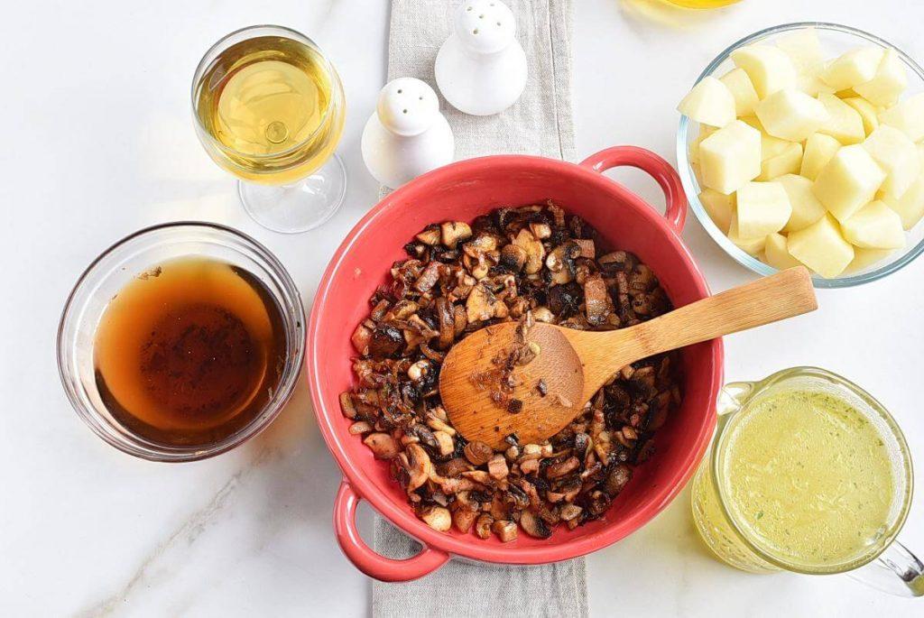 Hungarian Mushroom and Potato Soup recipe - step 5