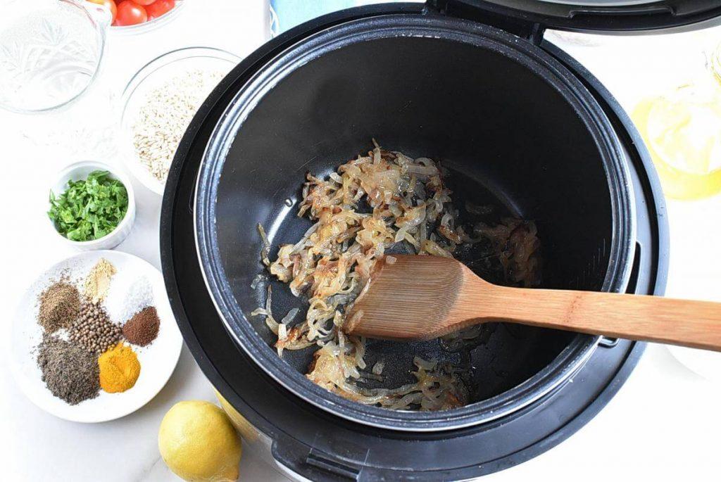 Instant Pot Mujadara recipe - step 2