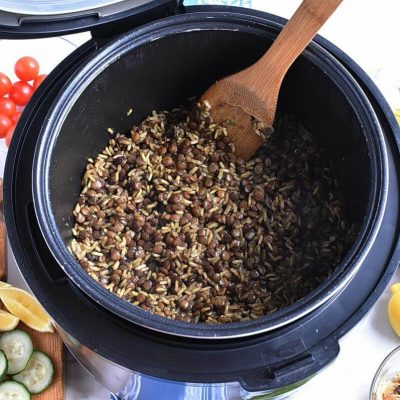Instant Pot Mujadara recipe - step 6