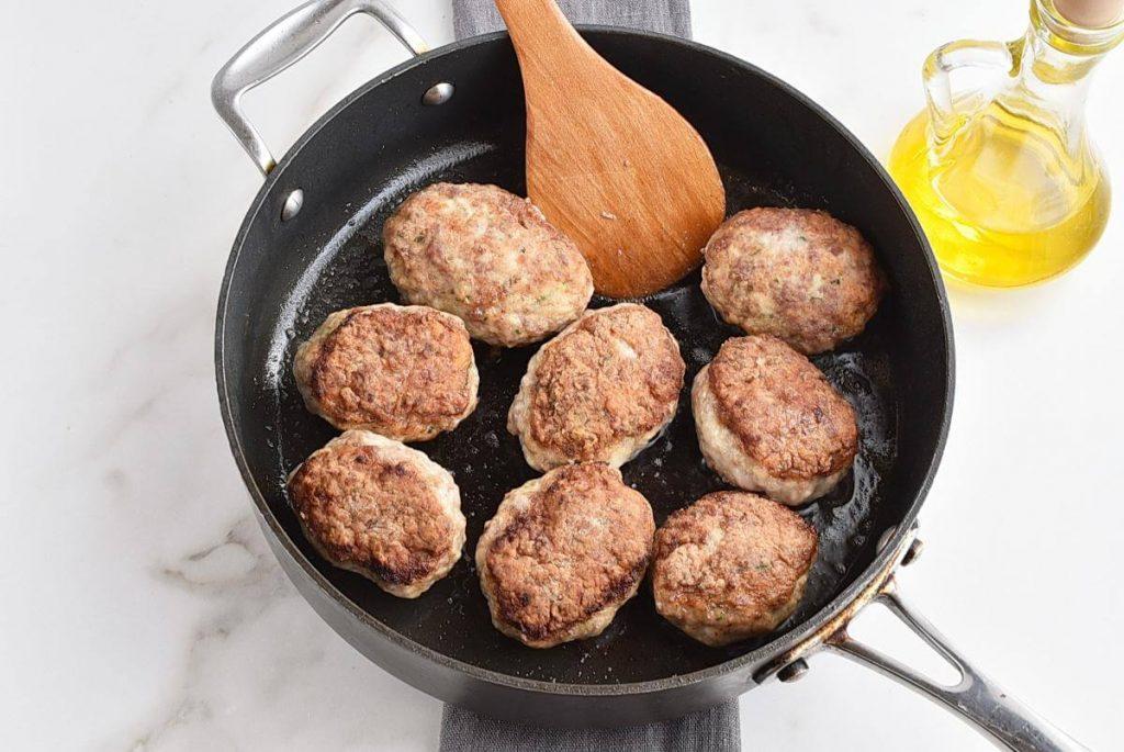 Lean Turkey Kotlety with Mushroom Filling recipe - step 7