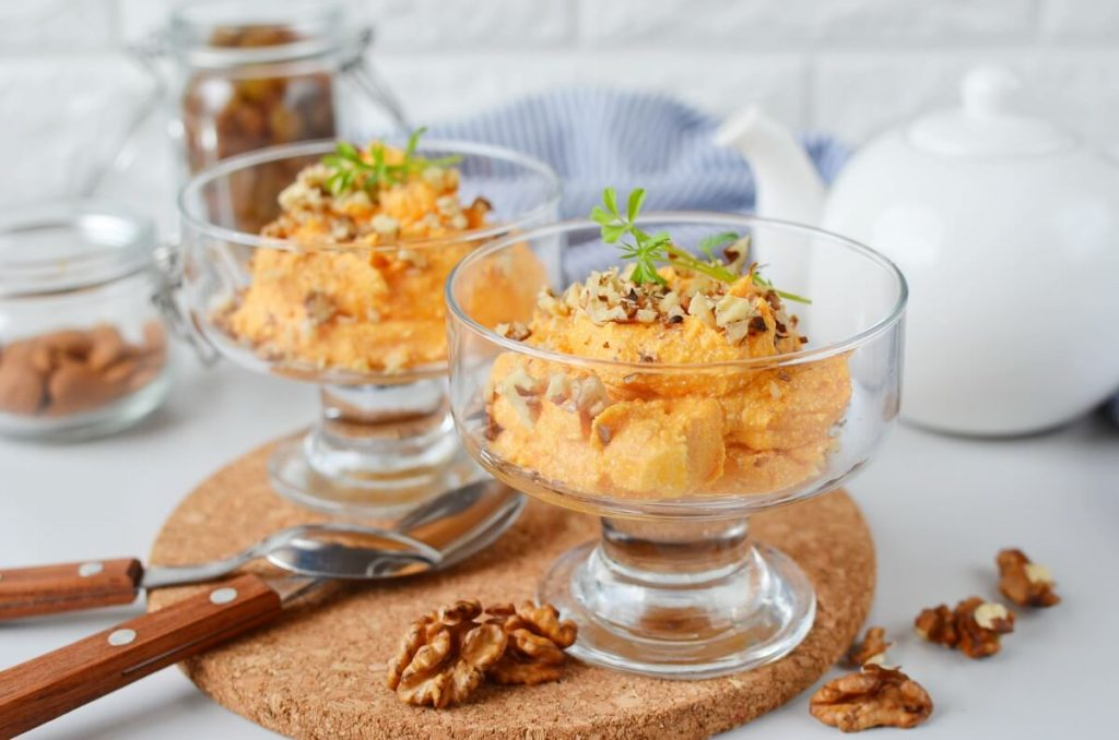 How to serve Pumpkin Cheesecake Cottage Whip