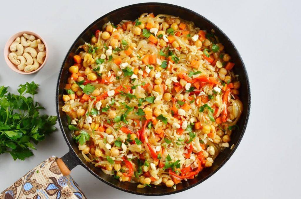 How to serve Easy Vegan Biryani – Indian Rice Dish