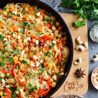 Quick and Easy Vegan Biryani Recipe-How To Make Quick and Easy Vegan Biryani-Delicious Quick and Easy Vegan Biryani