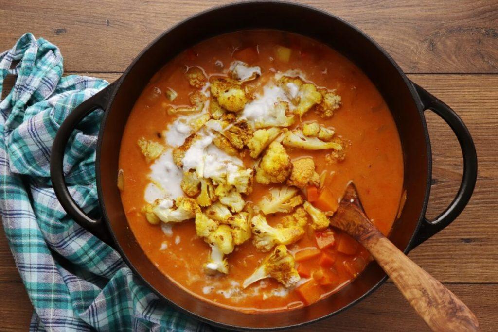 Roasted Cauliflower & Potato Curry Soup recipe - step 9