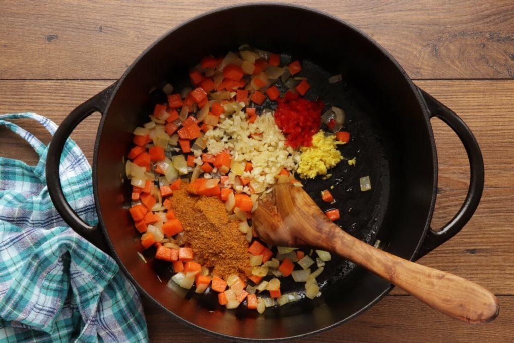 Roasted Cauliflower & Potato Curry Soup recipe - step 5