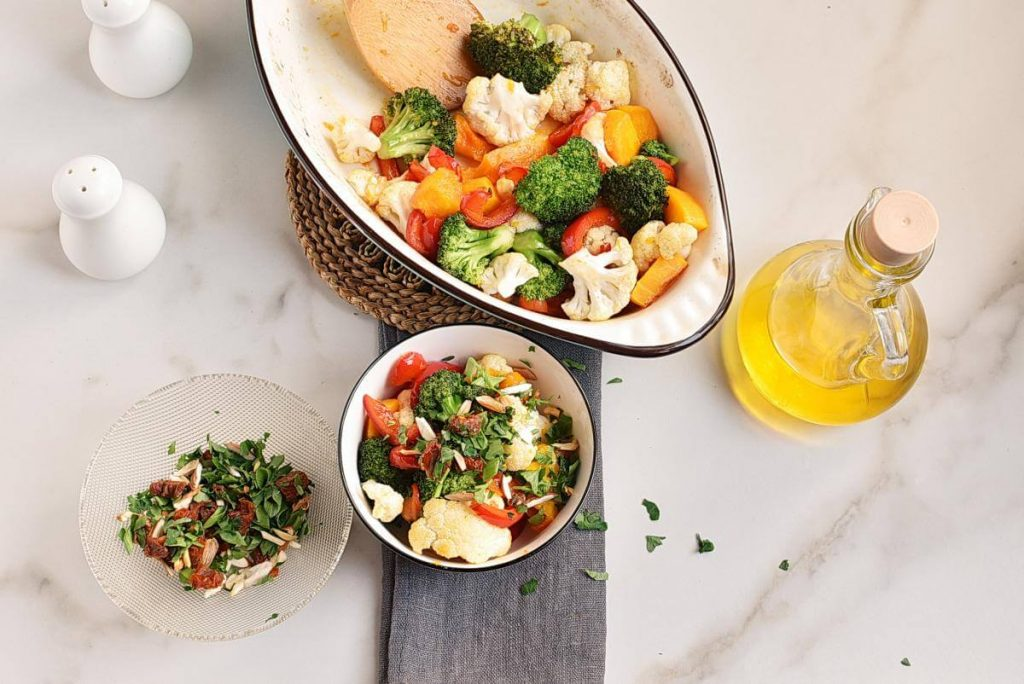How to serve Roasted Vegetables with Gremolata