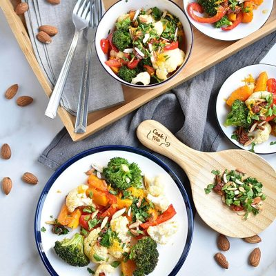 Roasted Vegetables with Gremolata Recipes–Homemade Roasted Vegetables with Gremolata–Roasted Vegetables with Gremolata