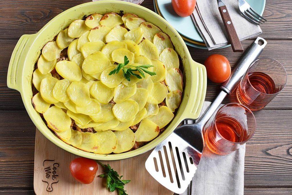 How to serve Serbian Ground Beef, Veggie, and Potato Bake