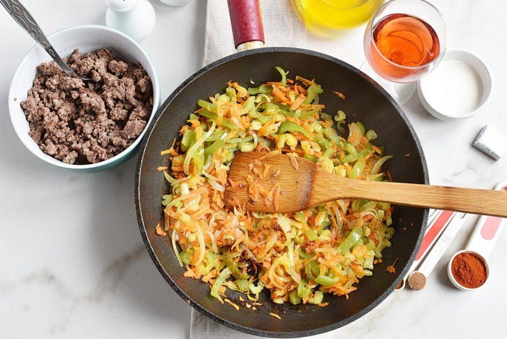 Serbian Ground Beef, Veggie, and Potato Bake recipe - step 3