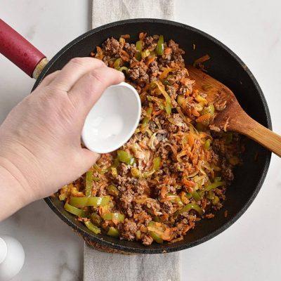 Serbian Ground Beef, Veggie, and Potato Bake recipe - step 5