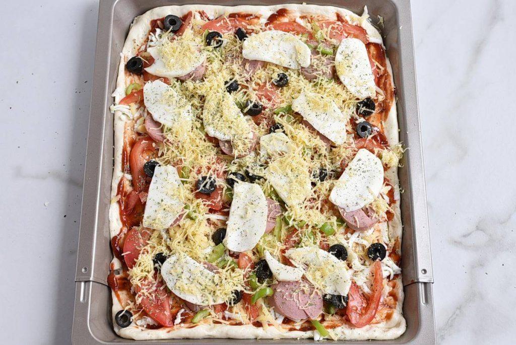 Sheet Pan Pizza Dough recipe - step 8