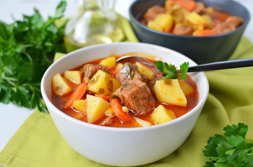 How to serve Steak Soup
