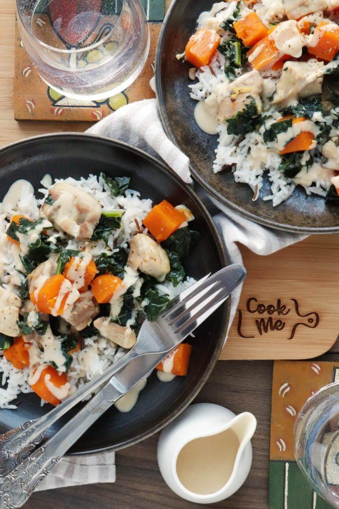 Delicious healthy eating recipe