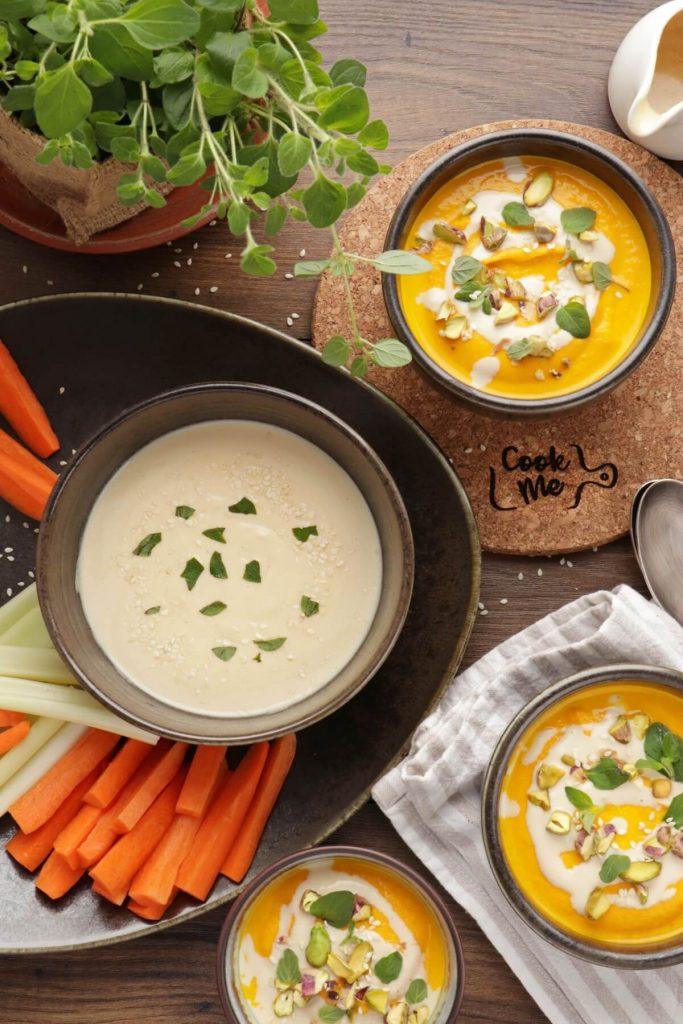 Easy Creamy Tahini Sauce