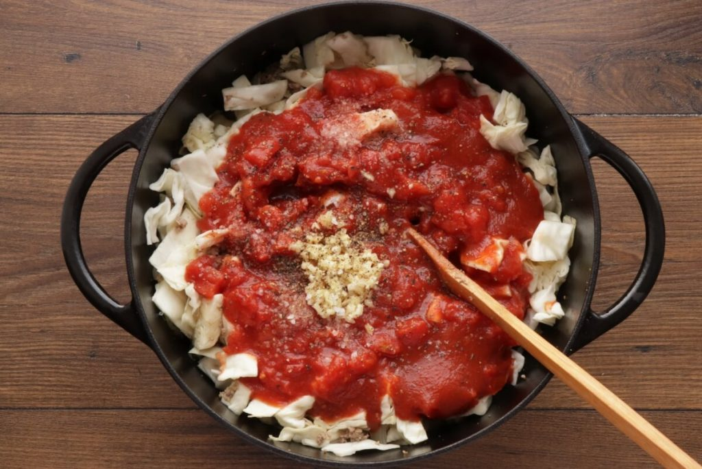 Unstuffed Cabbage Roll recipe - step 2