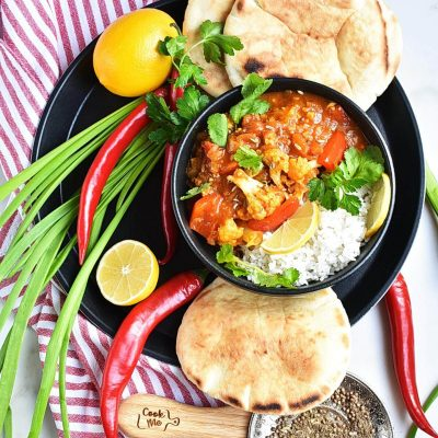 Vegan Tikka Masala with Cauliflower Recipes–Homemade Vegan Tikka Masala with Cauliflower–Eazy Vegan Tikka Masala with Cauliflower
