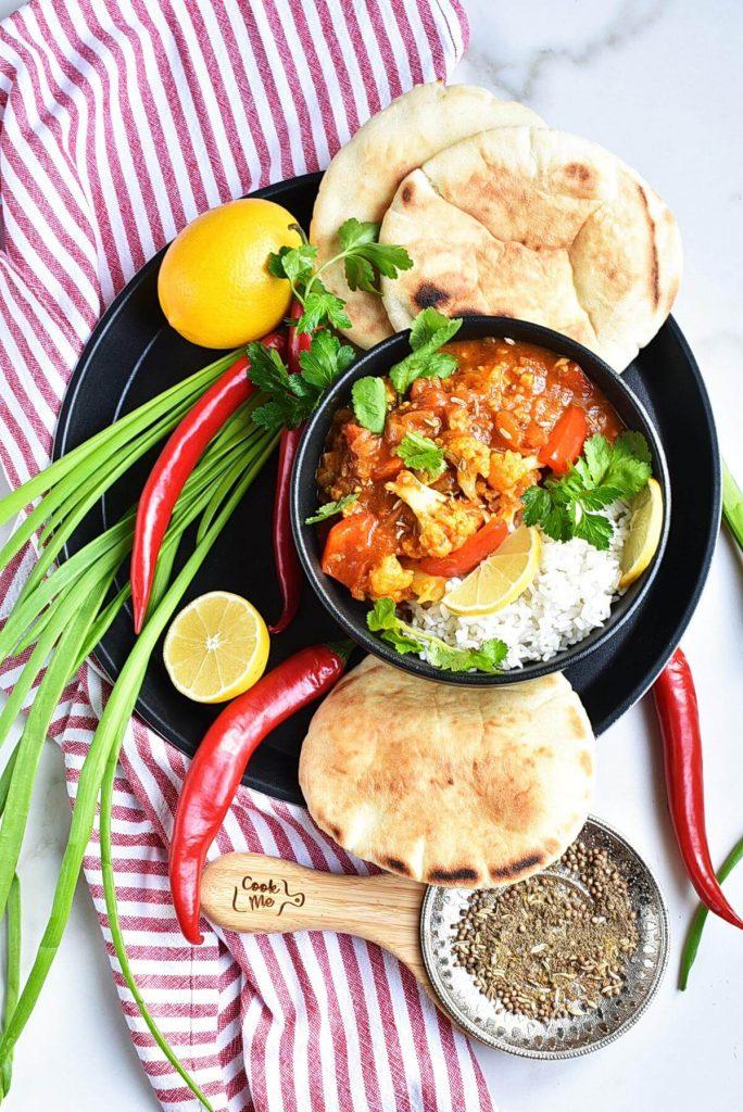 Vegan Tikka Masala with Cauliflower