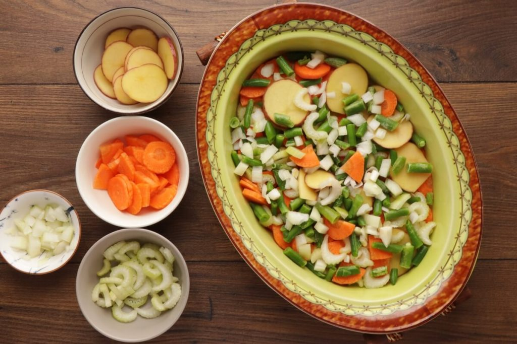 Vegetable Beef Casserole recipe - step 2