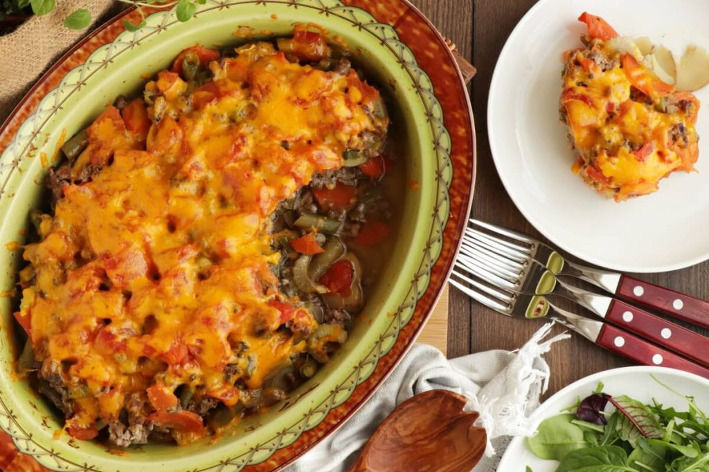 How to serve Vegetable Beef Casserole