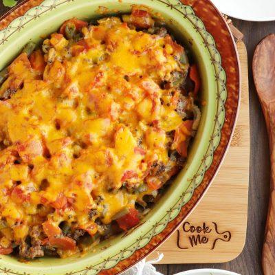 Vegetable Beef Casserole Recipe-Ground Beef Mixed Vegetable Casserole-Healthy Beef Casserole Recipe