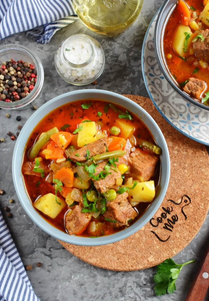 Hearty filling soup