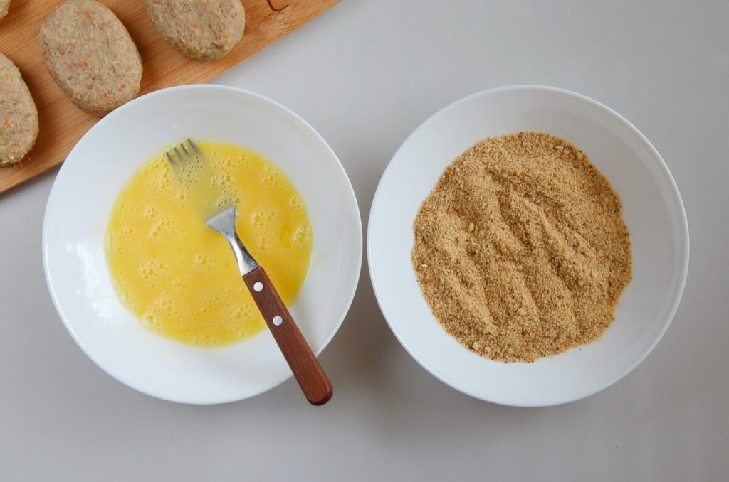 Vegetarian Buckwheat and Mushroom Croquettes recipe - step 6