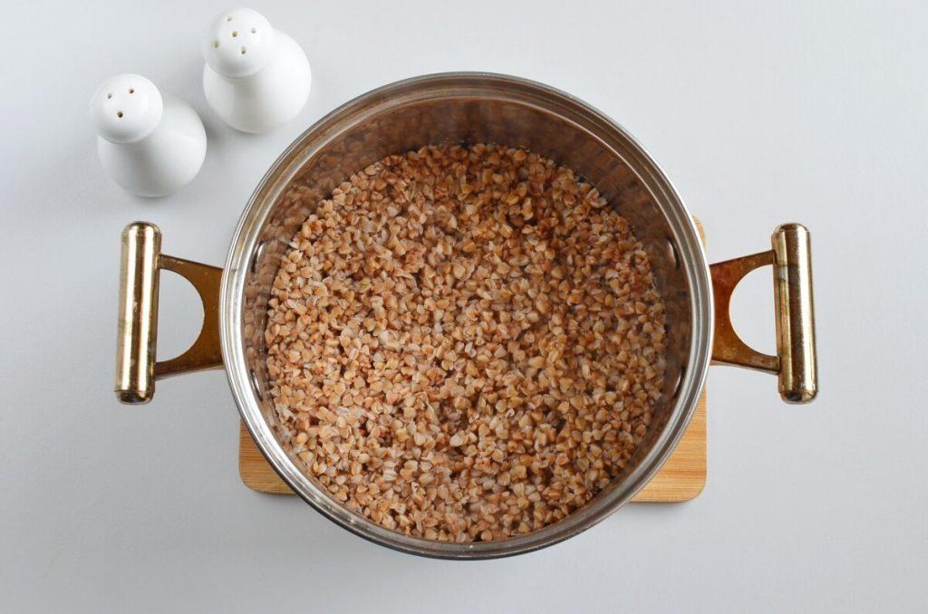 Vegetarian Buckwheat and Mushroom Croquettes recipe - step 1