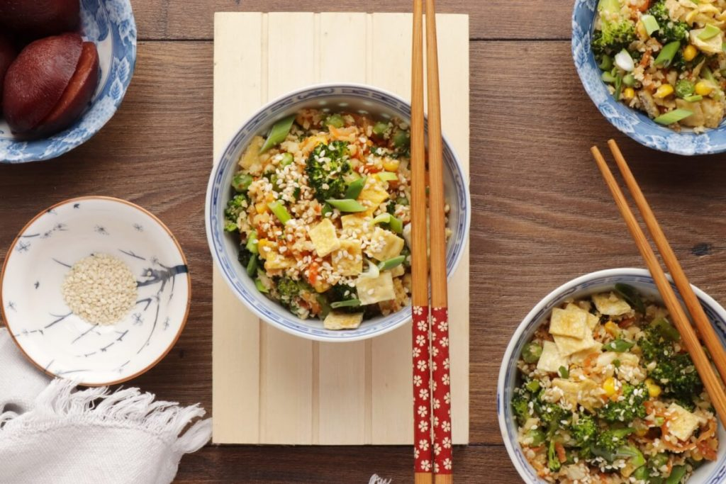 How to serve 10-Minute Healthy Cauliflower Rice
