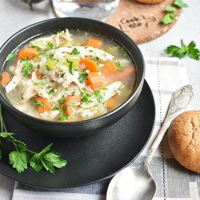 Chicken and Rice Soup Recipes–Homemade Chicken and Rice Soup–Eazy Chicken and Rice Soup